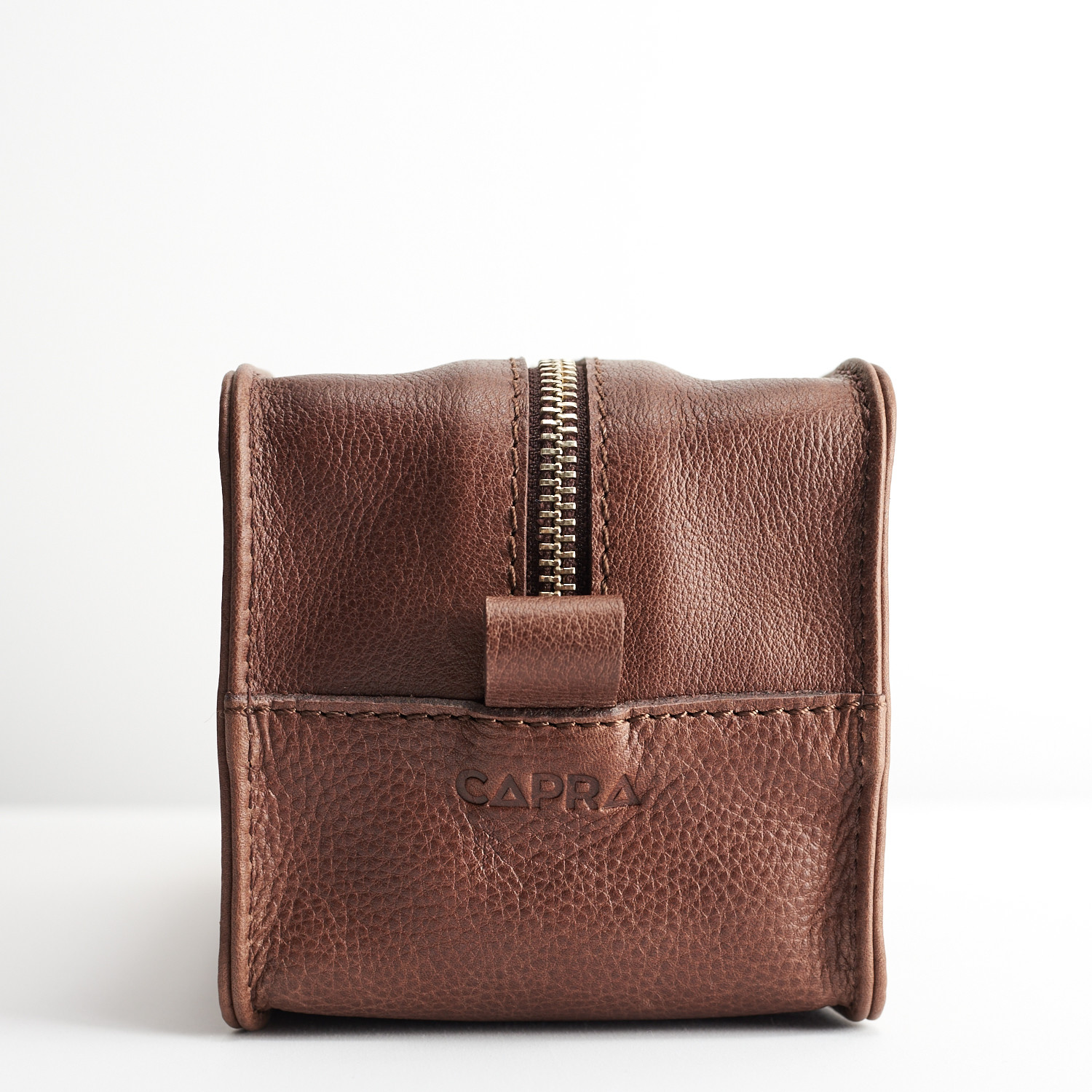 5aa80fb75415 Barber Toiletry Bag (Tobacco) - Capra Leather - Touch of Modern