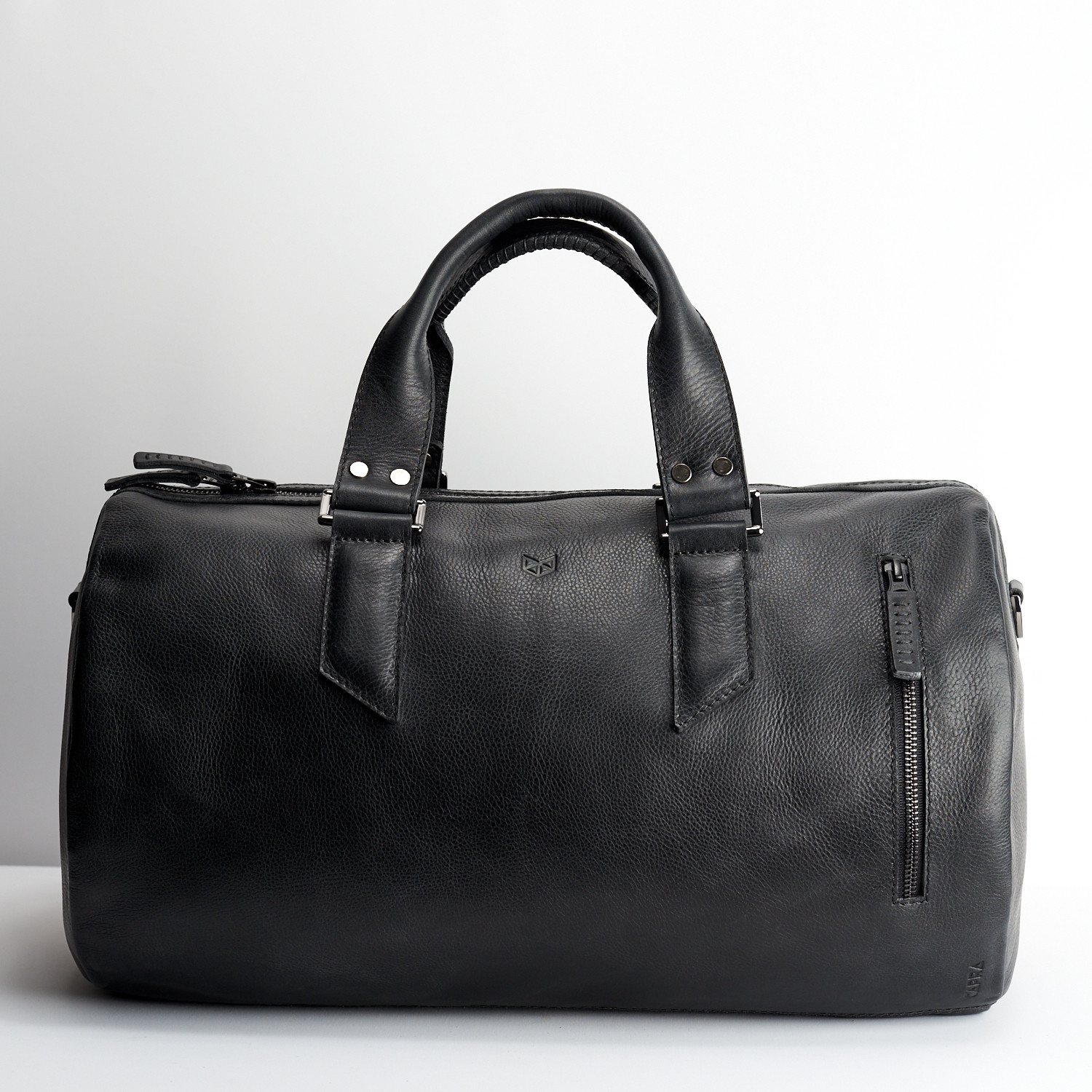 184852355b0a52 Substantial Duffle Bag // Black (25 Liters) - Capra Leather - Touch ...