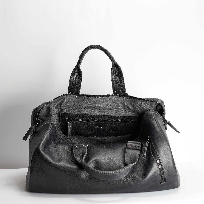 8cb60ae6b1b9 Substantial Duffle Bag    Black (25 Liters) - Capra Leather - Touch ...