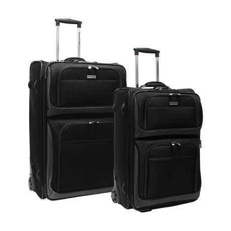 Conventional II Rugged Luggage // Set of 2 (Navy)