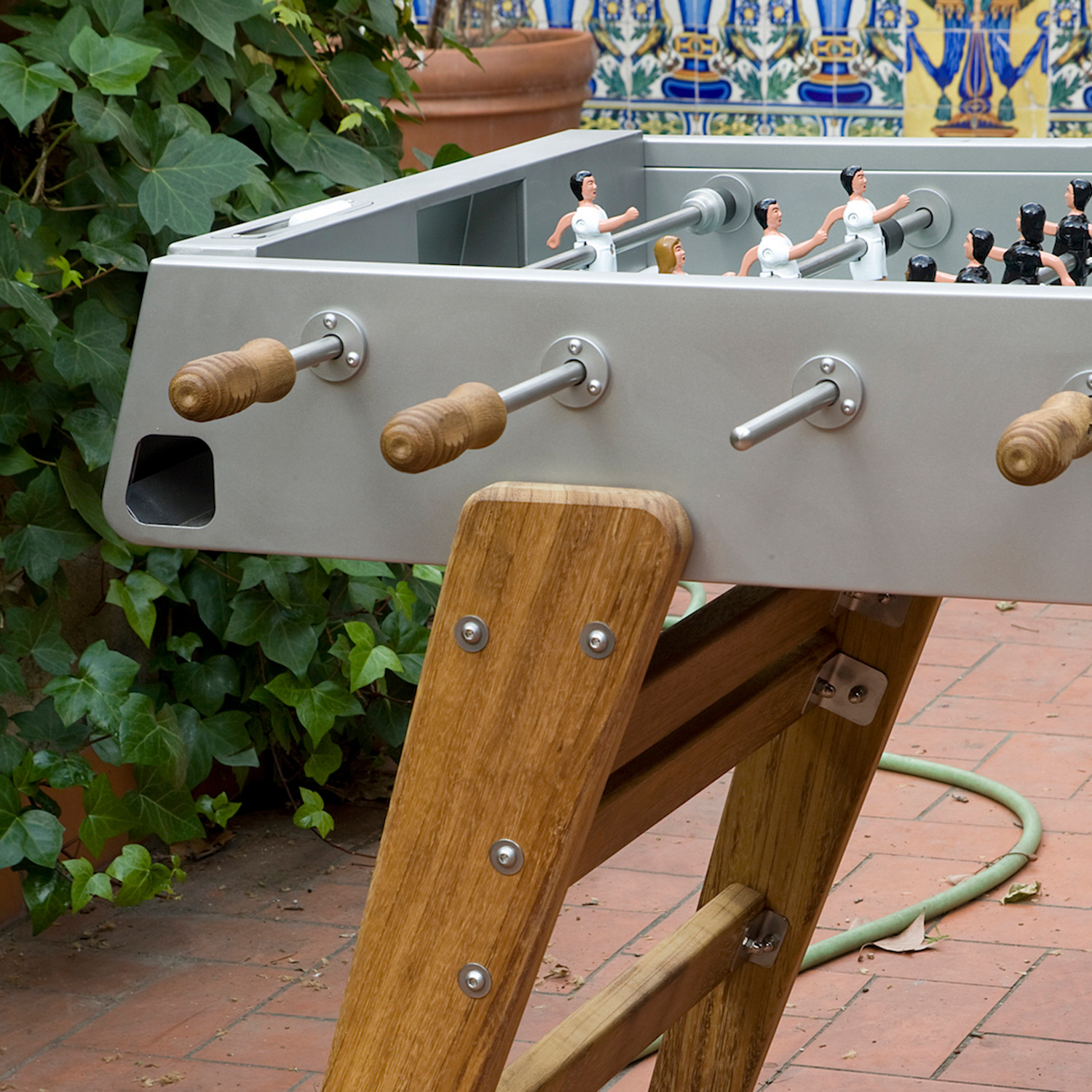RS#3 Wood Foosball Table // Stainless