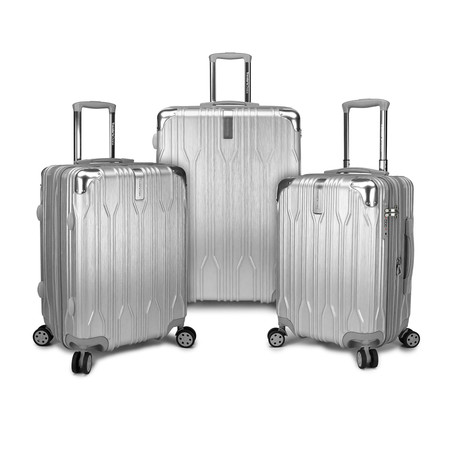 Bell Weather Expandable Spinner // Set of 3 (Silver)