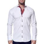Mini Panam Dress Shirt // Square White (XS)