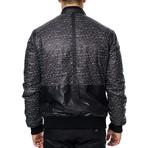 Tetris Bomber Jacket // Black (XS)