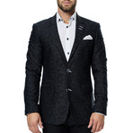 Socrate Evo Black Matrix Blazer // Black (XS)