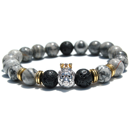 "Lion's Den Bracelet (Length: 6.5"")"
