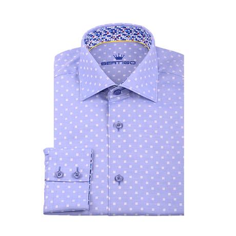 Freddie Button-Up Shirt // Blue (S)