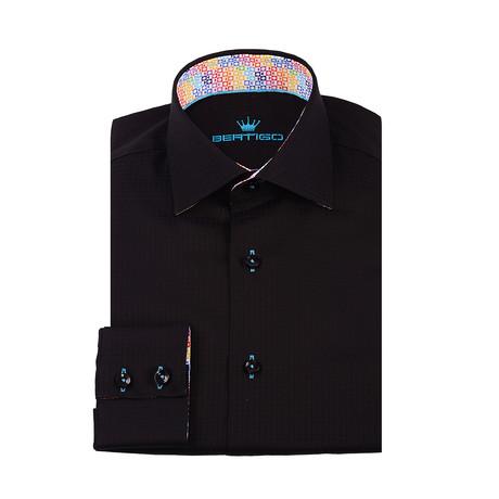 Goti Button-Up Shirt // Black (XS)