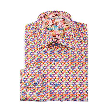 Maxim Button-Up Shirt // Pink (XS)