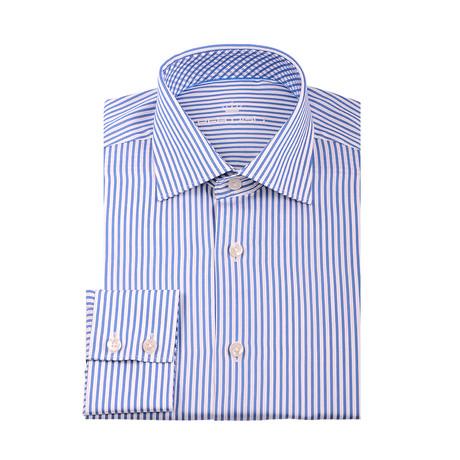 Rob Button-Up Shirt // Navy Blue (XS)