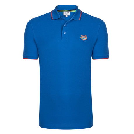Kenzo Tiger Short Sleeve Polo // Blue (S)