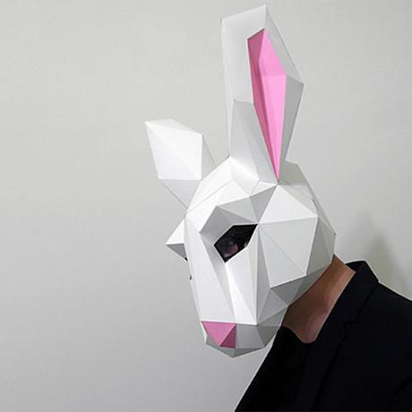 SMRT Animal Mask // Bunny