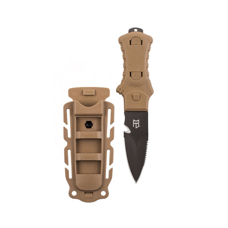 Tactical Utility Knife (Brown)