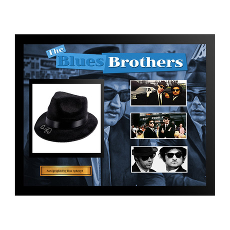 Autographed Hat Collage // Blues Brothers