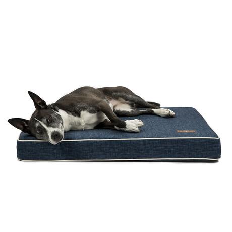 Orthopedic Memory Foam Pillow // Denim (Medium)