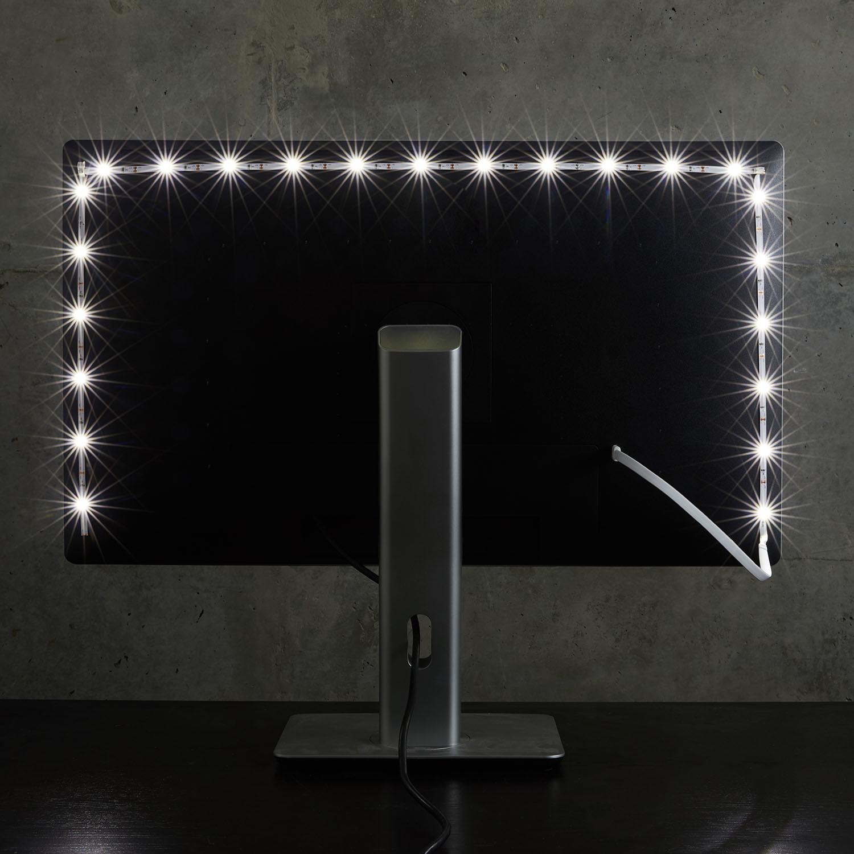 Luminoodle Color Bias Lighting (2 Meter) & Luminoodle Color Bias Lighting (2 Meter) - Power Practical - Touch ... azcodes.com