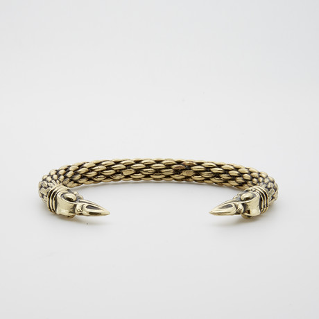 Dell Arte // Spiked Bronze Bangle