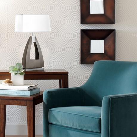 Trina Table Lamp // Charcoal Gray