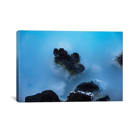 """Blue Lagoon // Sarah Boyd (26""""W x 18""""H x 0.75""""D)"""
