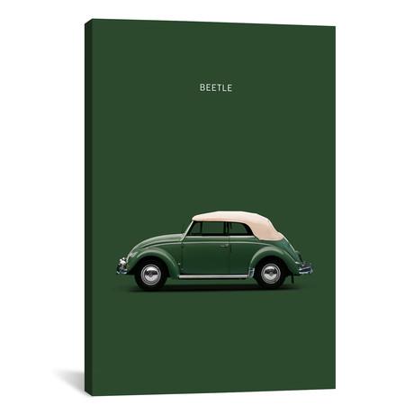 """1953 Volkswagen Beetle (26""""W x 18""""H x 0.75""""D)"""