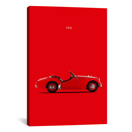 "1959 Triumph TR3 (26""W x 18""H x 0.75""D)"