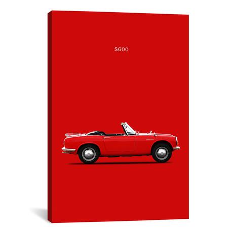"""1966 Honda S600 (26""""W x 18""""H x 0.75""""D)"""