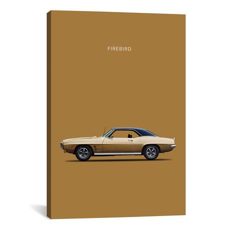 "1969 Pontiac Firebird (26""W x 18""H x 0.75""D)"