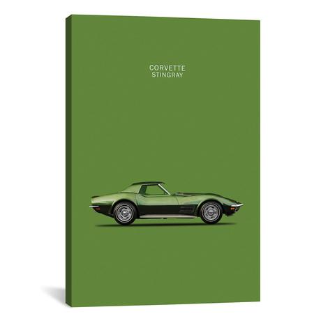 "1970 Chevrolet Corvette Stingray (26""W x 18""H x 0.75""D)"