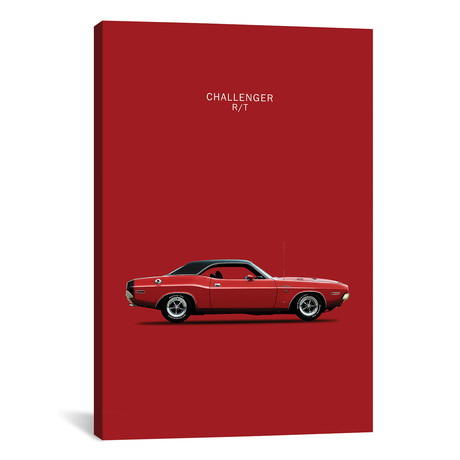 "1970 Dodge Challenger R/T (26""W x 18""H x 0.75""D)"