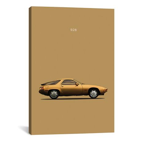 """1979 Porsche 928 (26""""W x 18""""H x 0.75""""D)"""