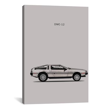 """1981 DeLorean DMC-12 (26""""W x 18""""H x 0.75""""D)"""