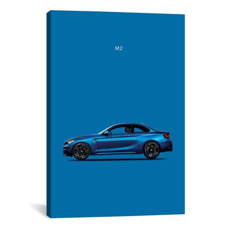 """BMW M2 (26""""W x 18""""H x 0.75""""D)"""