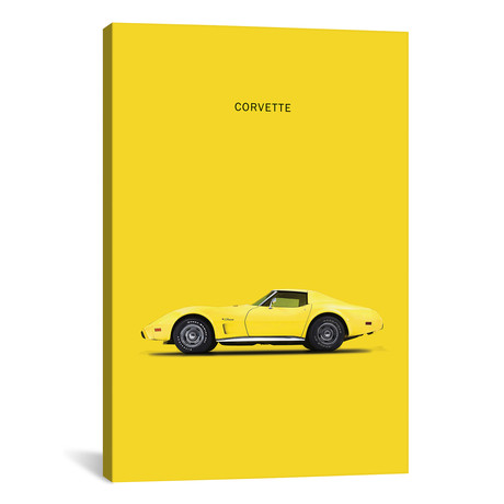 """Chevrolet Corvette (26""""W x 18""""H x 0.75""""D)"""