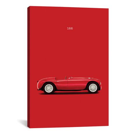 """Ferrari 166 (26""""W x 18""""H x 0.75""""D)"""