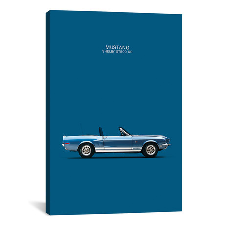 """Ford Mustang Shelby GT500-KR (26""""W x 18""""H x 0.75""""D)"""