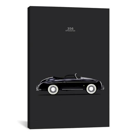 """Porsche 356 Speedster (26""""W x 18""""H x 0.75""""D)"""
