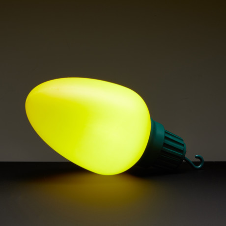 Oversized Christmas Lights // Set Of 10 // Yellow