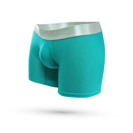 Malla Microfiber Boxer Mesh // Jade