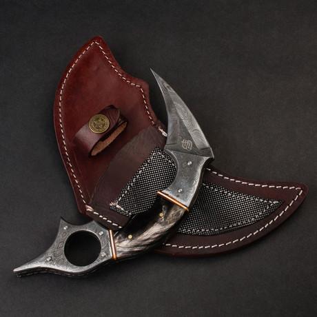 Dragon's Claw Damascus Karambit