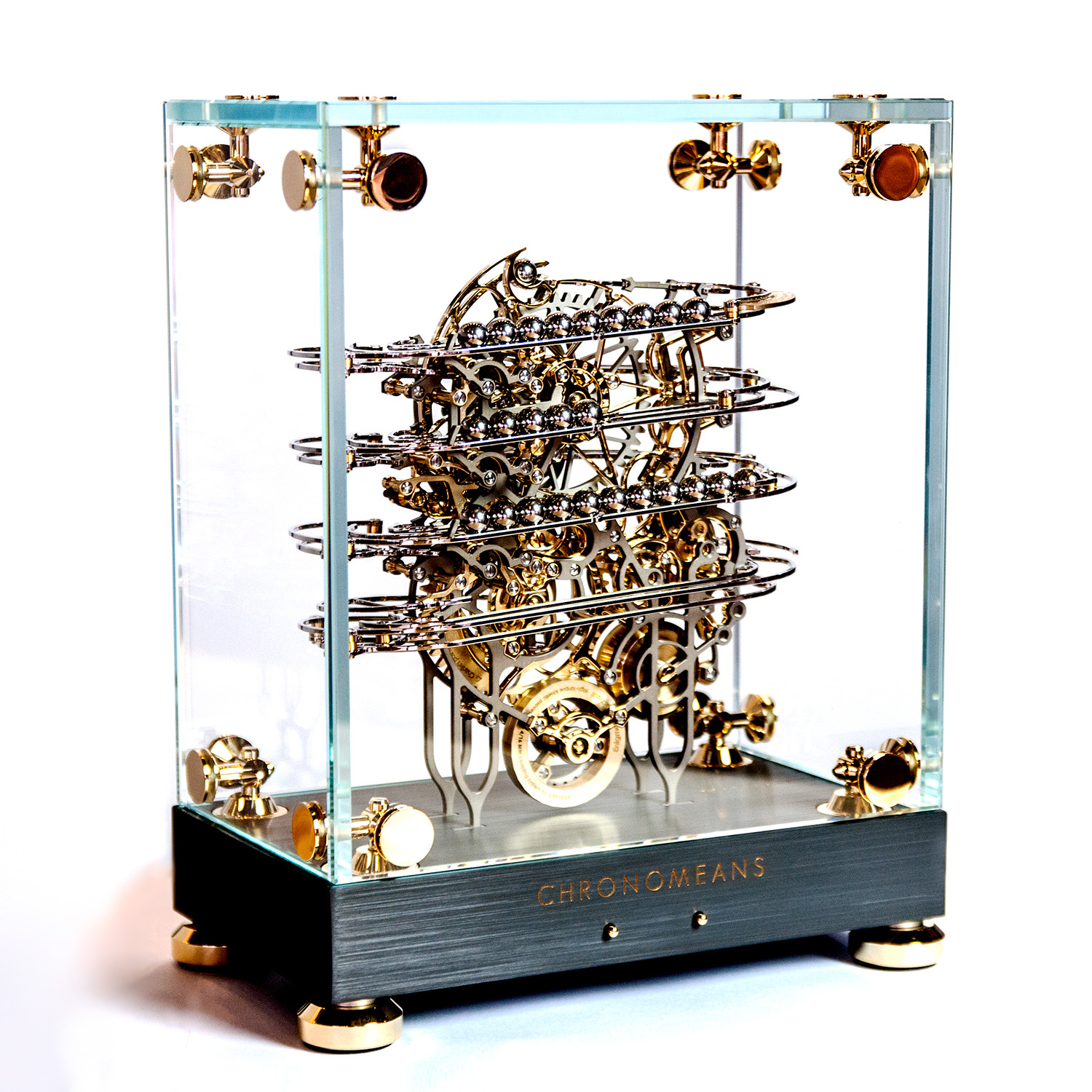 Chronomeans Rolling Ball Clock Shahrazad Limited