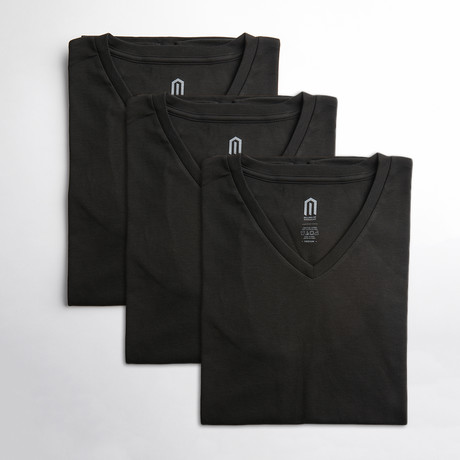 Obsidian Dialectic Tee // 3-Pack (S)