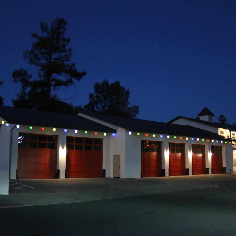 Oversized Christmas Lights // Set Of 10 // Red - Really Big Lights ...