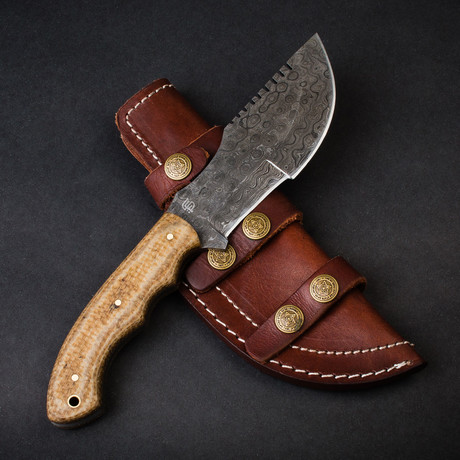 Grizzly Adams Tracker Knife