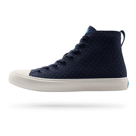Phillips High-Top Sneaker // Paddington Blue + Picket White