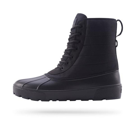 Jasper Duck Boot // Really Black (US: 7)