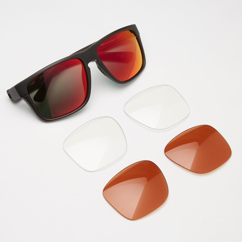 0d597366880e Nitecrawler Interchangeable Lens Sunglasses    3-Lens Pack (Matte Black)