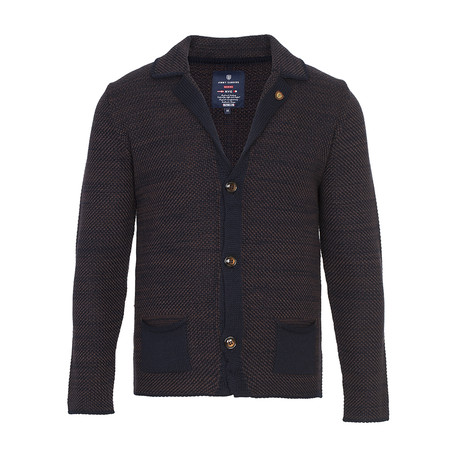 Knit Cardigan // Navy (S)