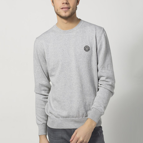 Crewneck Sweater // Grey Melange (S)