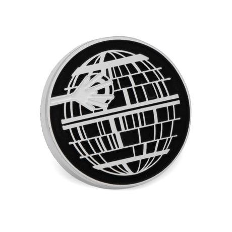 Death Star Glow Lapel Pin