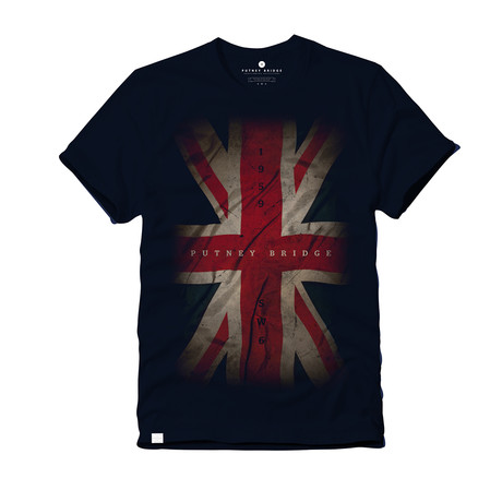 Union Jack 1959 T-Shirt // Navy (S)